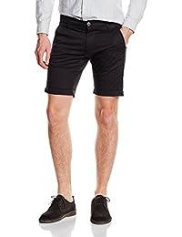 SELECTED Shhparis Black St Shorts, Short Para Hombre