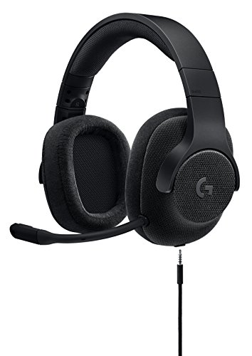 Price comparison product image Logitech G433 7.1 Wired Gaming Headset with DTS Headphone: X 7.1 Surround for PC,  PS4,  PS4 PRO,  Xbox One,  Xbox One S,  Nintendo Switch - Triple Black