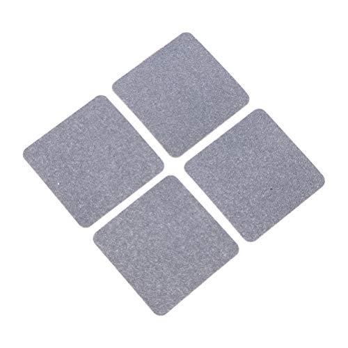 Vosarea Antirutsch-Fußmatten für Waschmaschine 4 Stück (5 x 5 cm) -