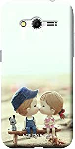 Fashionury Soft Back Case Cover For Samsung Galaxy Core 2 G355H-Print14723
