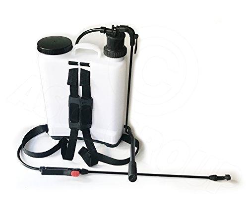 16 litre knapsack pressure sprayer for weed killer, water & plant food