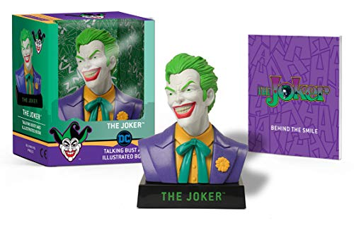 The Joker Talking Bust and Illustrated Book