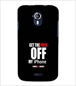 PrintDhaba Quote D-1247 Back Case Cover for MICROMAX A116 CANVAS HD (Multi-Coloured)