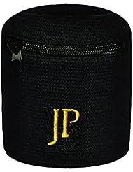 JayPee 2er Set Funktions-Schweißband mit Fach Tasche & Reißverschluss / sport Wristband