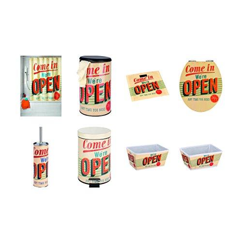 Duschvorhang Vintage Open – 180 x 200 cm – Wenko - 3