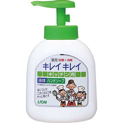 Lion Kireikirei | Hand Soap | for Kitchen 250ml (japan import)