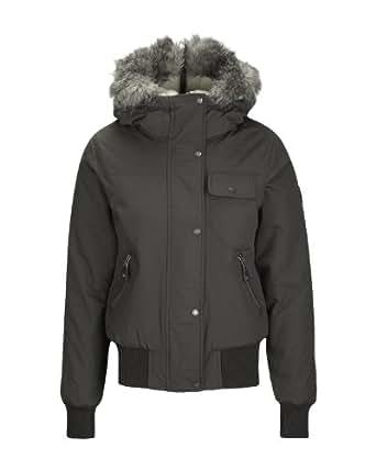 Bench - snowslide - blouson - femme - gris (dark grey) - s