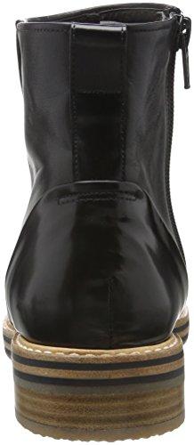 Zinda 2422, Bottes courtes avec doublure chaude femme Noir - Noir