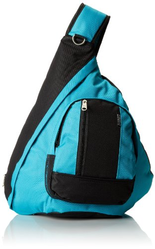 Everest Sling Bag, Arancione, Taglia unica Turquoise