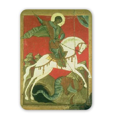 icon-of-st-george-and-the-dragon-tempera-mouse-mat-art247-highest-quality-natural-rubber-mouse-mats-