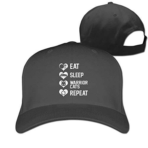 Wfispiy Baseballmützen Essen Schlaf Wiederholung Golf Papa Hut Erwachsene Vintage Hysteresen Hüte RF6188