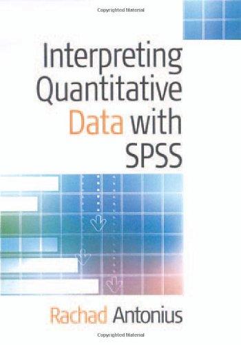Interpreting Quantitative Data with SPSS