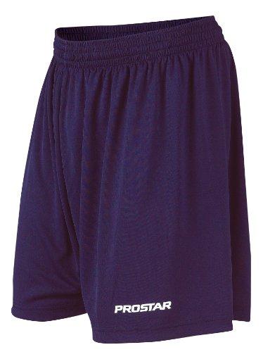 Prostar - Kiev, Pantaloni da calcio corti da adulto, unisex Blu Marina
