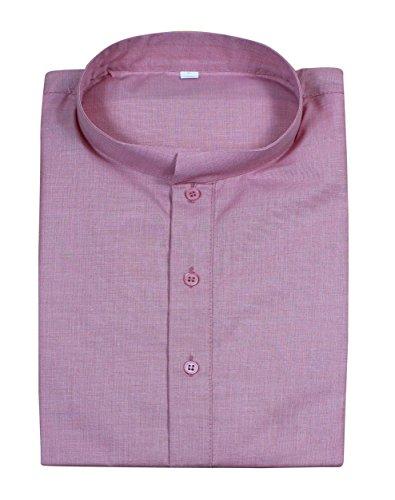 Camicia di moda abbigliamento - uomo manica corta in cotone kurta - Abiti india -size m