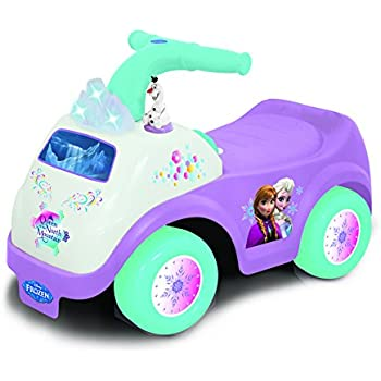 Disney – La Reine des Neiges – Light & Sound Activity Ride-on – Porteur d'Activité
