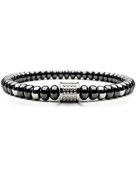 BERING Arctic Glow Keramik-Armband für Damen schwarz 603-6117-X