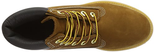 Timberland 6 6in Premium Boot-W, Stivaletti Donna Marrone (Braun (Rust Nubuck))