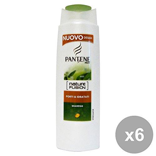 Set 6 PANTENE Shampoo 1-1 NATURE FUSION Forti&IDR.250 Ml. Prodotti per capelli