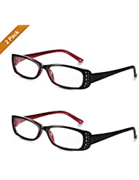 5c4520bdb3 Read Optics – Pack X2 de Gafas de Lectura Vista Fashion de Mujer +1.5  Dioptrías