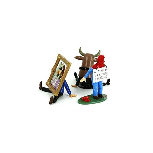 PIXI Figura Moulinsart: Tintín Capitán Haddock Trío - 46215 (2005) 2