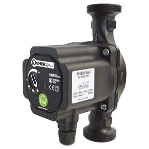 """Somatherm - Pompes chauffage et climatisation - Pompe de chauffage """"ENERJFLUID"""" CLASSE A DN25 Hm 1-6 180mm"""