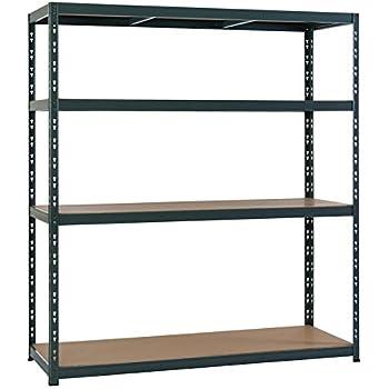 lagerregal steckregal kellerregal metallregal 180x100x60 cm 5 b den 175 kg pro boden. Black Bedroom Furniture Sets. Home Design Ideas