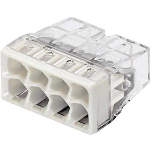Wago COMPACT-Dosenklemme 8 x 0,5-2,5 qmm, 50 Stück, grau, 2273-208