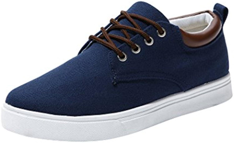 Zapatos de Lona Viento Deportivo Estilo Casual Calzado de Hombre Suave Zapatillas Bajas junkai 39-44  -