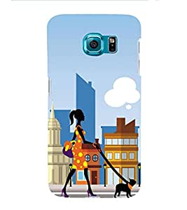 HiFi Designer Phone Back Case Cover Samsung Galaxy S6 G920I :: Samsung Galaxy S6 G9200 G9208 G9208/Ss G9209 G920A G920F G920Fd G920S G920T ( City Life Shopping Life Beautiful Life )