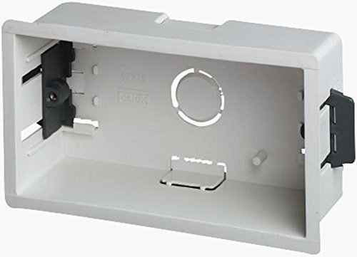 Extra profundo portamecanismos caja/empotrable - 2 enrolen - profundidad 47 mm