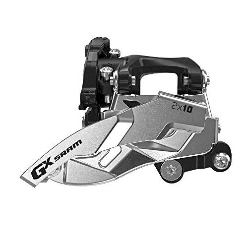 Sram GX 2x10 Low Direct Mount, Dual Pull, 36T Umwerfer, schwarz/Silber, 2 x 10 cm -