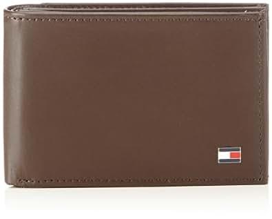 Tommy Hilfiger ETON MINI CC & COIN POCKET BM56923215 Herren Geldbörsen 11x7x2 cm (B x H x T), Braun (BROWN 204)