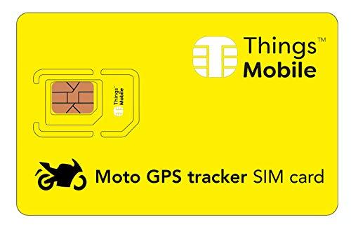 Tarjeta SIM para LOCALIZADOR GPS de MOTO - Things Mobile - con...