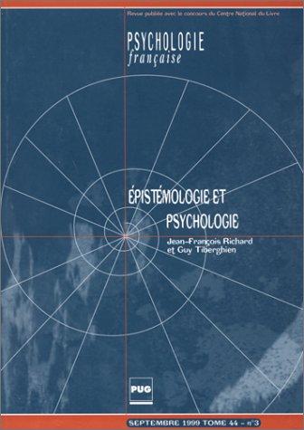 Epistémologie et psychologie