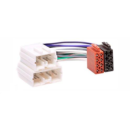 carav 12-028 ISO Radio Adapter Draht Verkabelung Anschluss führen Loom Kabel Plug Adapter Stereo Radio-draht