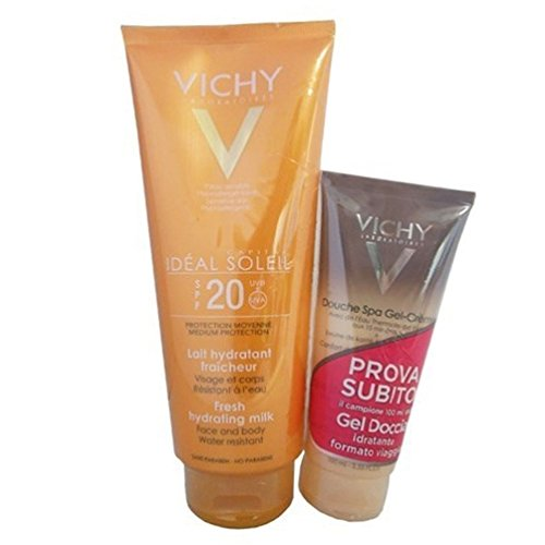 Ideal soleil latte idratante fresco 300 ml spf 20