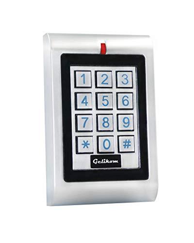 Gelikom RFID und PIN Codeschloss 2 Relais Wasserdicht Türöffner Transponder Passwort Code -