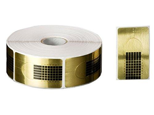 Nagel-Schablonen (100 Stück), Modellier-Schablone selbstklebend für Gel-Nägel & Acryl Nagel-Verlängerung