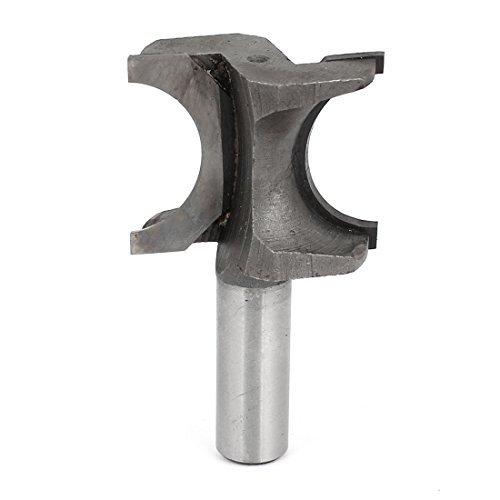 """Carpenter Halbrund Fräser Schneidwerkzeug 1/2 """"x 1"""" Silber-Ton-Grau"""