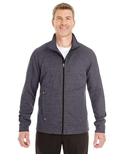Men's Amplify M?lange Fleece Jacket CARBON/ BLK 456 L -