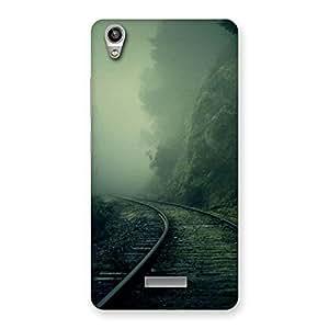 Cute Fog Track Back Case Cover for Lava-Pixel-V1