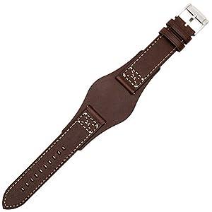 Fossil Uhrenarmband 22mm Leder Braun – CH-2599 | LB-CH2599