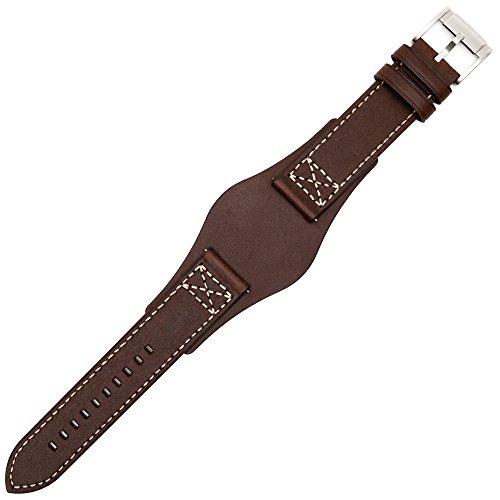 Fossil Uhrenarmband 22mm Leder Braun - CH-2599 | LB-CH2599