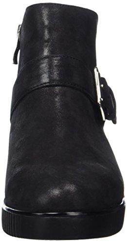 Caprice 25401, Stivali Donna Nero (Black Suede)