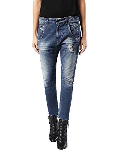 Diesel Fayza 0854U Damen Jeans (25W / 32L, Blau)