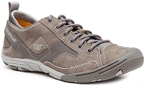 2640bc09eda571 Caterpillar Cat Radius P719647 en Cuir Sneakers Baskets Chaussures pour  Hommes P719647 Medium Charcoal 40 EU