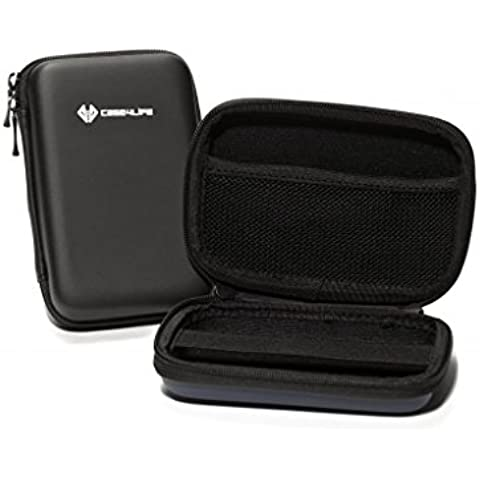Case4Life Nero Duro Antiurto Borsa custodia per fotocamera digitale per Canon Powershot D20, D30, G7 X, G9 X, SX700 HS, SX710 HS - Garanzia a vita