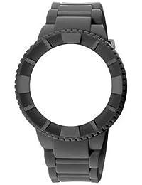 WATX cowa1064–Reloj de pulsera unisex, correa de silicona color verde pistacho