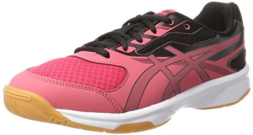 ASICS Unisex-Kinder Upcourt 2 GS Hallenschuhe, Rot (Rouge Red/Dark Grey/Black 1995), 33.5 EU