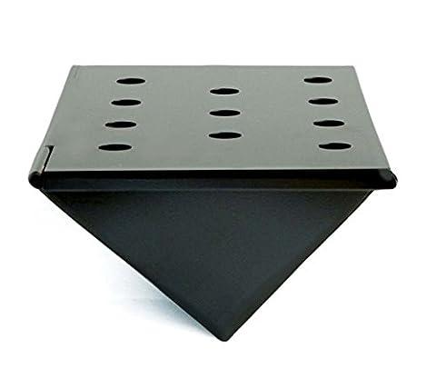 Charcoal Companion Short Non-Stick Gas Grill V-Shape Smoker Box